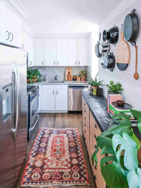Karpet dapur eklektik