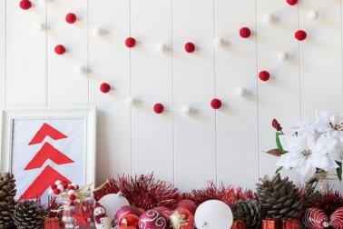 dekorasi rumah khas natal