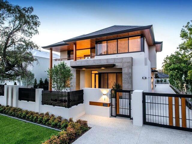 7 Pilihan Desain Pagar Rumah Untuk Halaman Depan Belakang Dan Area