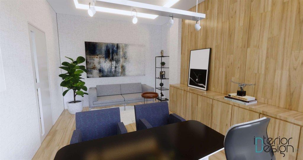 Desain Interior ruang kerja manager