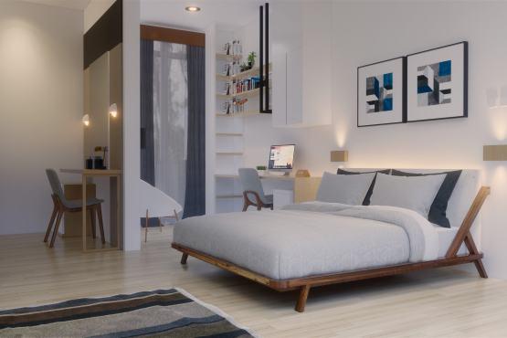 Desain interior kamar anak modern