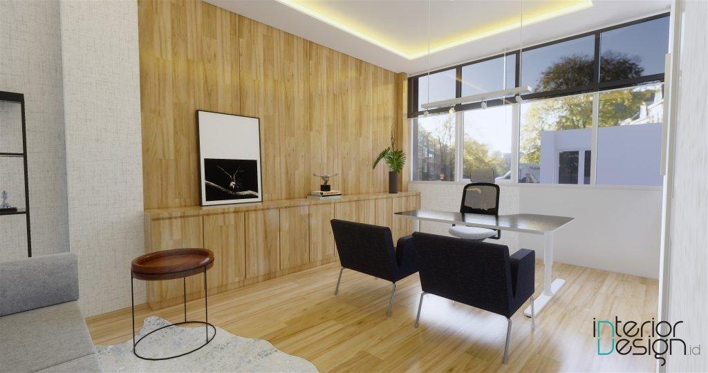 Desain interior ruang manager