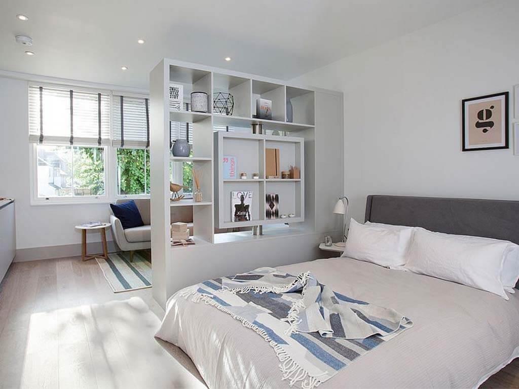 smart living: pembagian ruang menggunakan partisi furnitur