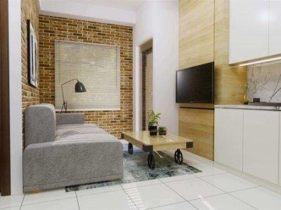 Interior desain apartment modern minimalis