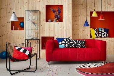desain interior post modern vintage