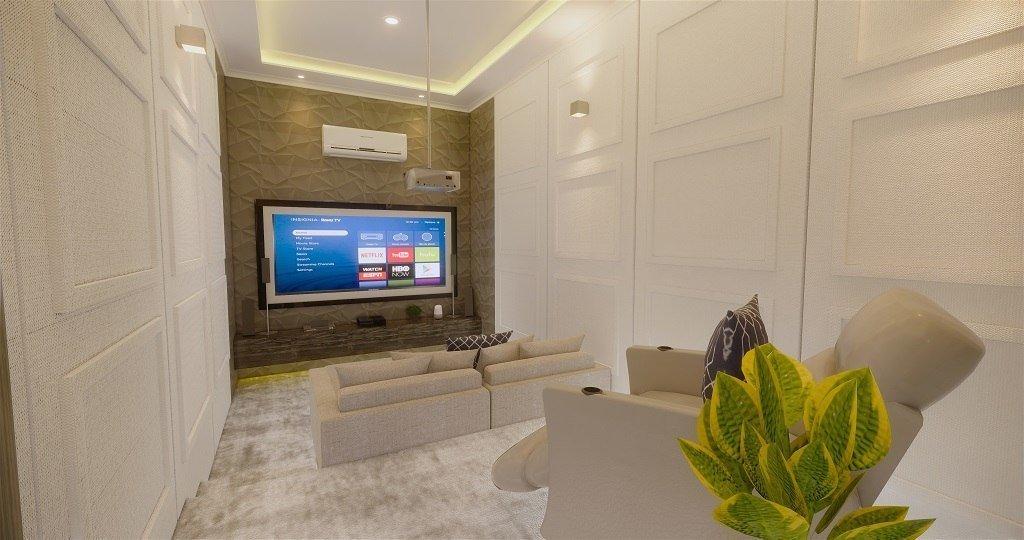 desain home theater gaya modern klasik