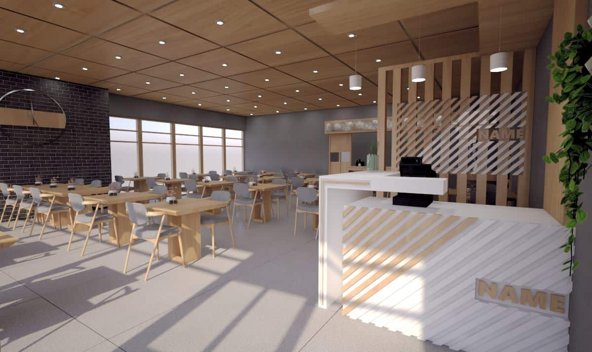 Sushi Bar Concept - Interior Designio