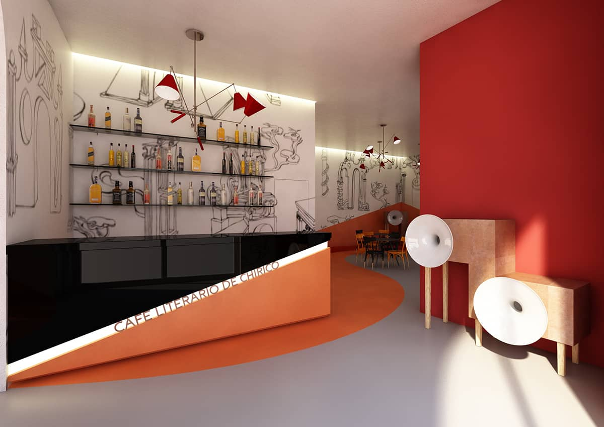 Literary Cafe De Chirico