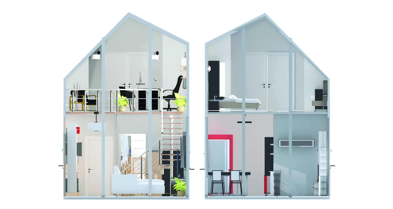 Corridor House - Interior Designio