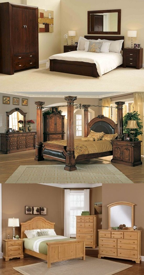 Oak Wood Interiors Bedroom Furniture Interior Design