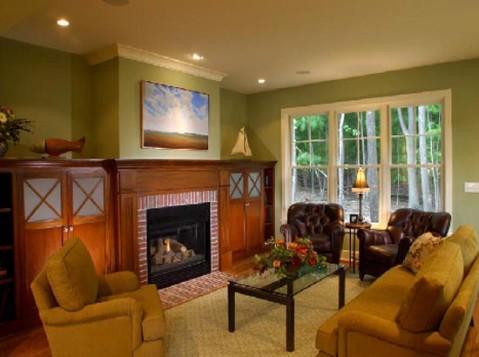Modern cottage interior design - Interior design