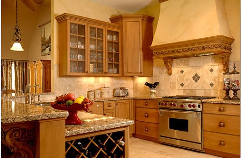 Italian kitchen decor