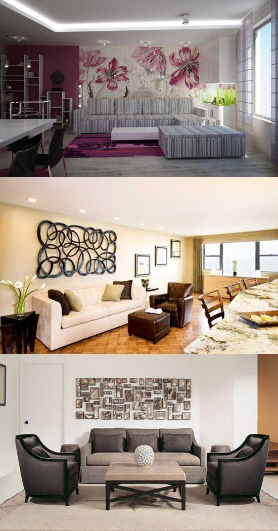L Shaped Kitchen Living Room