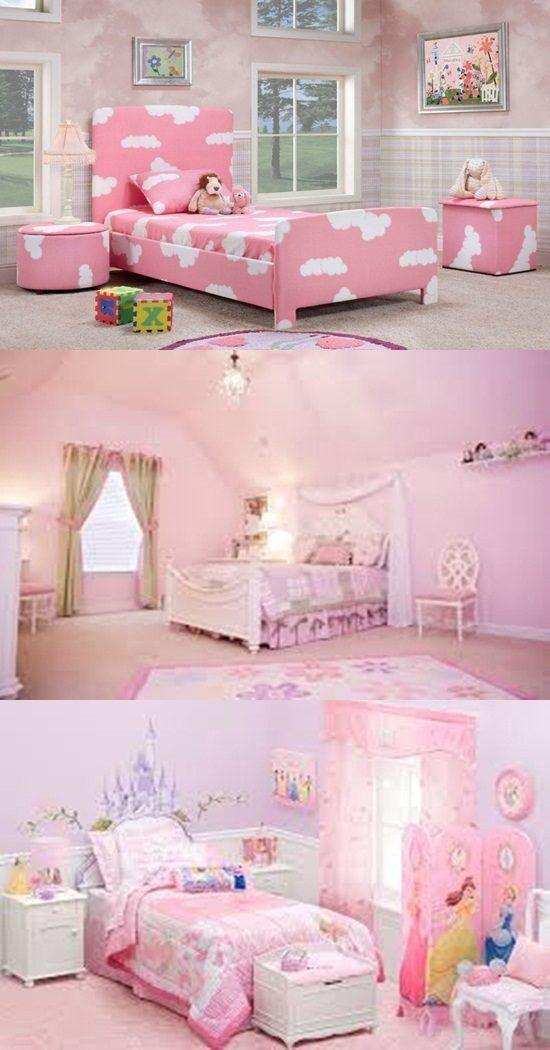 Pink Bedrooms For Little Girls Interior Design