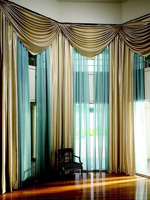 Modern Curtain Styles Kitchen