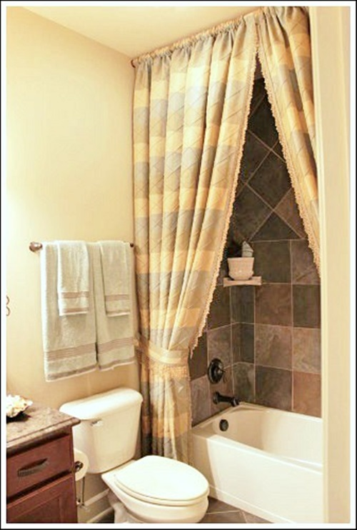 The Importance Of The Shower Curtains And Having A Beautiful Homey Bathroom