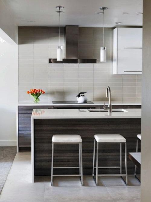 Popular Spacious Modern Kitchen Design Trends - Interior ...