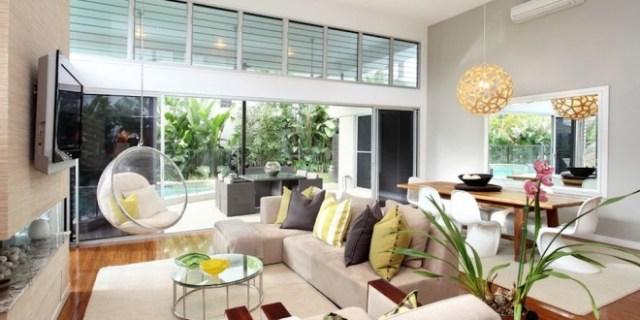 La mejor sofá para la decoración de la sala de estar