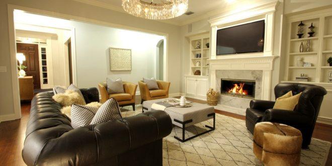 Estrategias innovadoras para organizar su sala de muebles de la sala Inspirado en Shari Misturak Proyectos