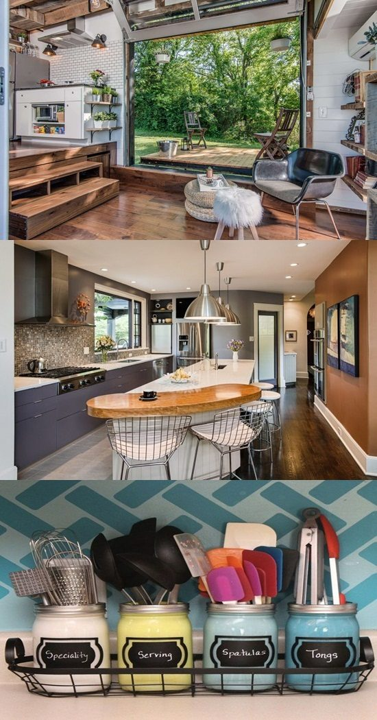 Genius Small Kitchen And Bathroom Solutions Inspired From Grand Decor Projects Interior Design