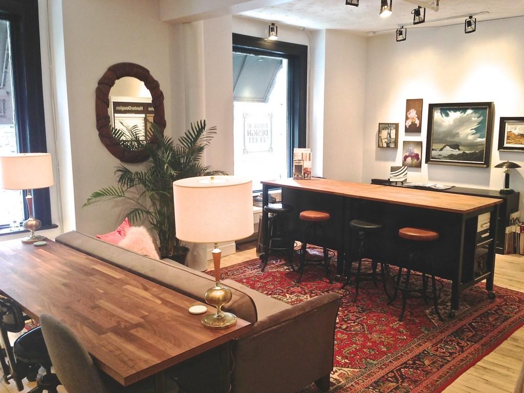Interior Design Shoppe showroom