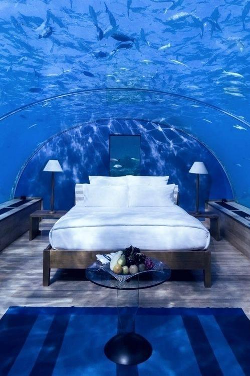 Luxury At Par Underwater Bedrooms