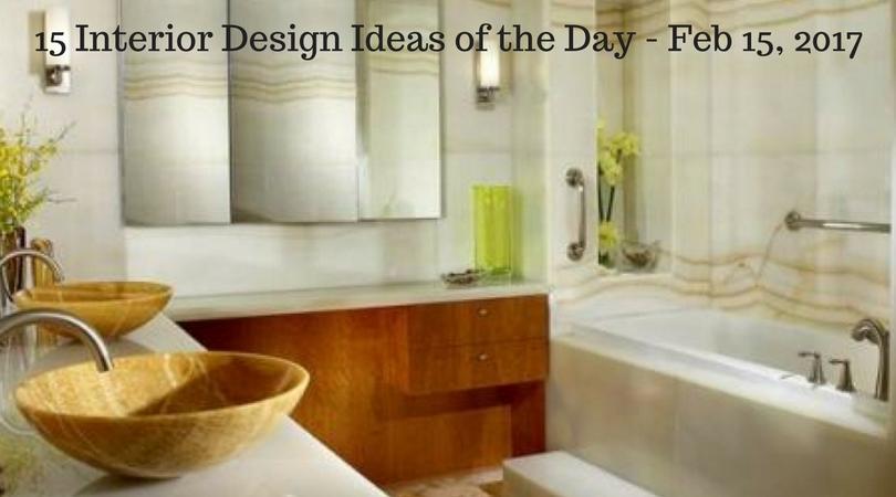 15 Interior Design Ideas Of The Day   Feb 15, 2017