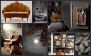 Sally White Designs: Monday mood board - grey and brown