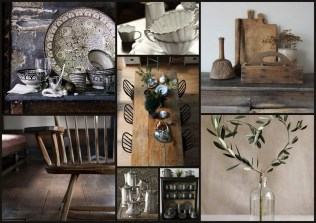 Sally White Designs: Rustic Dining