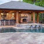 Pool house interior designs