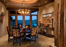 Southwestern Dining Room Interior Designs