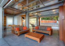 Garage Living Room Ideas