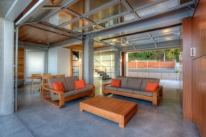 Garage Living Room Ideas