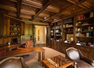 Mediterranean Home Office Designs