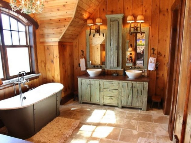 Rustic Bathroom Designs Every New Home Owner Should See 2