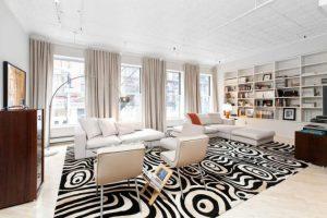 Black and White Carpets