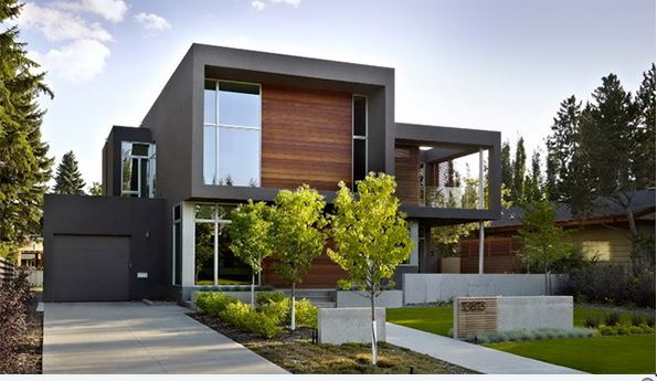Landscaping Designs With Trees Outside The Home