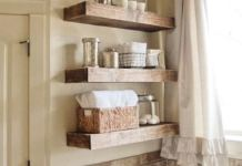 Awesome DIY Ideas Of Bathroom Shelving