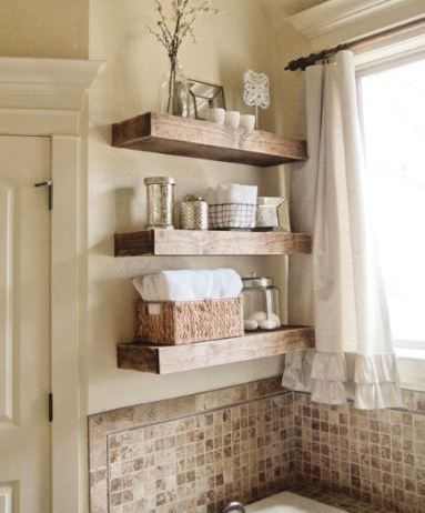 Awesome DIY Ideas Of Bathroom Shelving