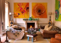 Cozy Designs For Your Living Rooms Mantle