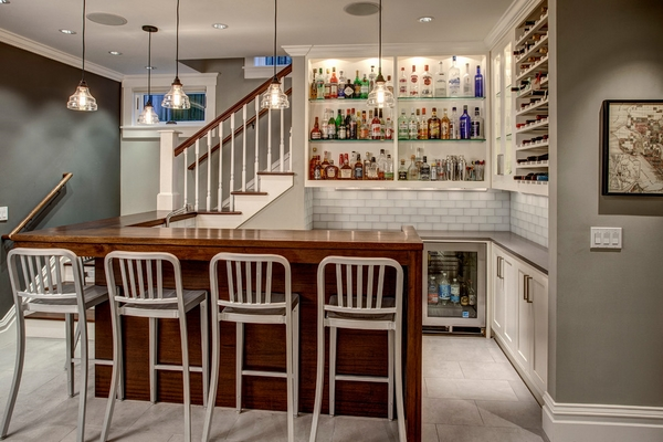 ... Your Basement Is To Transform It Into Your Library Or Home Office. Look  At How This Family Has Done The Same Thing With Their Basement. Isnu0027t It  Lovely?