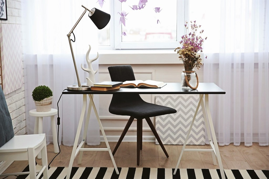 Light Up Your Home Office Interior Design Tips