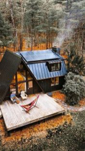 A Frame Cabin Gets An A Makeover - Via Sunset