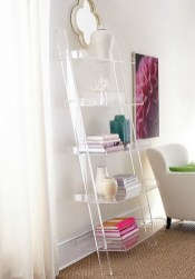 Acrylic and lucite furniture pieces are perfect for adding style to your space without a lot of visual weight