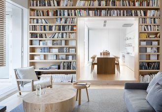 Alfred Street Residence By Studio Four Blis ⊶ Via Verygoods.co #HomeLibraryDesign