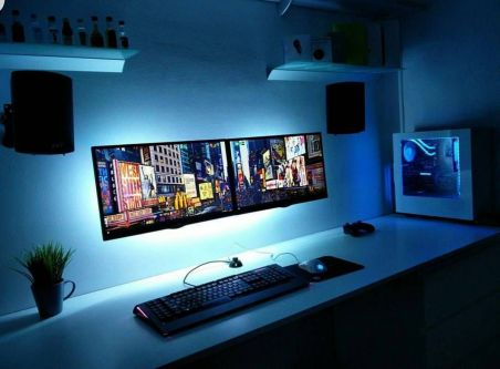Best Video Game Room Ideas For Gamers Guide ☼ Via Unscripted360 #Ps4 Gaming Setup #Dream Rooms #Gaming Setup Xbox-8