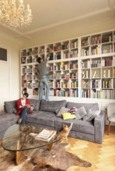 Bookstorage ⊶ Via Woonblog #DreamLibrary