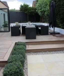 Cozy Small Backyard Deck Designs ☼ Via Backyardmastery