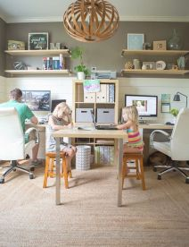Create A Family Office Space With These Tips - Brit.co