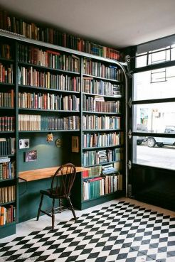 Creative And Modest American Country Inter ⊶ Via Vimdecor #BookshelfIdeas